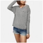 O'Neill Langarmshirt »Essentials striped top«, Gr. L
