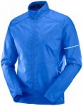 Salomon - Agile Wind Jacket - Laufjacke Gr L blau