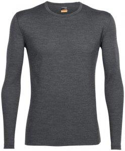 Icebreaker Oasis LS Crewe Men black 2015 S schwarz Fahrradbekleidung Funktionsunterwäsche Langarm Shirts S
