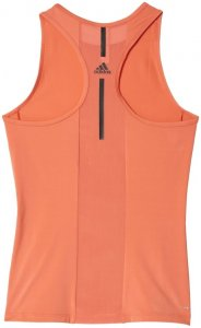 adidas SPEED FITTED TANK Lauftop Damen orange