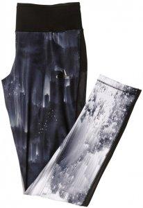 adidas WOW TIGHT PRINTED Damen schwarz