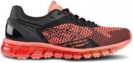 Asics GEL-QUANTUM 360 KNIT Natural Running Schuhe Damen schwarz