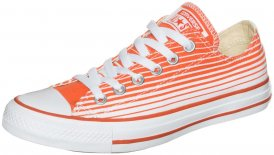 Converse CHUCK TAYLOR ALL STAR OX Sneaker Low weiß-orange
