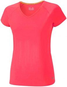 Mizuno ACTIVE TEE Laufshirt Damen pink
