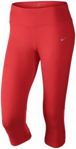 Nike EPIC RUN CAPRI Laufhose Damen rot