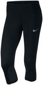Nike POWER EPIC RUNNING CAPRI 3/4 Lauftight Damen schwarz
