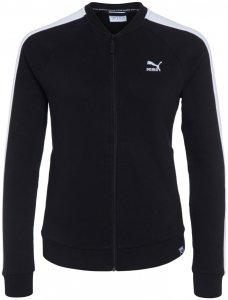 Puma ARCHIVE LOGO T7 JACKE Trainingsjacke Damen schwarz-weiß