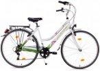 KS Cycling Cityrad 6 Gänge Damenfahrrad Papilio 28 Zoll weiß