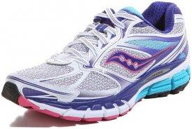 Saucony GUIDE 8 Laufschuhe Damen weiß-blau-pink