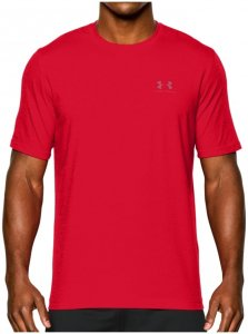 Under Armour CHARGED COTTON LEFT CHEST LOCKUP TEE T-Shirt Herren rot