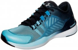 Under Armour CHARGED PUSH TRAININGSSCHUH Fitnessschuhe Damen blau