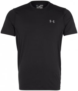 Under Armour HeatGear Raid Trainingsshirt Herren schwarz-grau