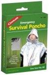 Coghlans Survival Poncho Silber