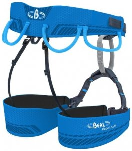 Beal Rebel Soft Klettergurt, Größe 1, blue