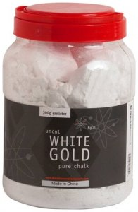 Black Diamond Uncut White Gold Pure Chalk Refillable Canister, 300g