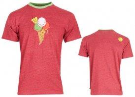 Edelrid Highball II T-Shirt, S, dark red