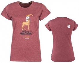 Edelrid Women´s Highball II T-Shirt, S, dark red