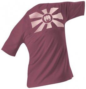 Edelrid Women´s Kamikaze T-Shirt, L, aubergine