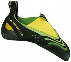 La Sportiva Speedster Kletterschuh, Größe 34, grün/gelb
