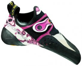 La Sportiva Women's Solution Kletterschuh, 36.5, white/pink
