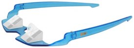 Lost Arrow Climbing Division LACD Belay Glasses Comfort Sicherungsbrille, blue