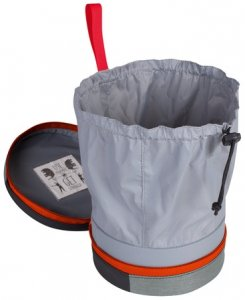 Mammut Boulder Chalk Can Chalk Bag, graphite-dark orange