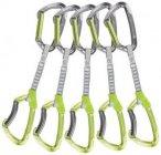 Climbing Technology Lime Dyneema Express Set, 5er Pack, grün