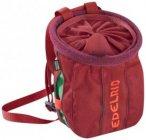 Edelrid Trifid Twist Chalk Bag, dark red
