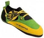 La Sportiva Stickit Kletterschuh für Kinder, Größe 28/29, lime/yellow