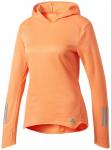 ADIDAS Damen Sweatshirt / Hoodie Response Hoodie, Größe XL in Braun
