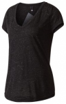 ADIDAS Damen T-Shirt Winners Tee Kurzarm, Größe XS in Schwarz