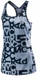 ADIDAS Damen Shirt AOP TANK 1, Größe XL in Blau