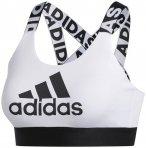 adidas Damen Don't Rest Branded Sport-BH, Größe XS in WHITE