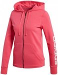 ADIDAS Damen Sweatjacke Essentials Linear Fz Hd, Größe S