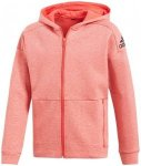 ADIDAS Girls Sweatjacke ID Stadium Full Zip Hoodie, Größe 152 in Schwarz