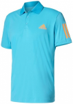 ADIDAS Herren Polo Club Poloshirt, Größe M in Blau