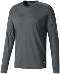 ADIDAS Herren Shirt ID LONGSLEEVE, Größe L in Grau