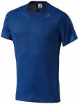ADIDAS Herren T-Shirt Supernova Short Sleeve Tee, Größe S in Blau