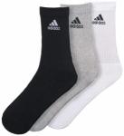 ADIDAS Herren Socken Performance Crew HC 3er Pack, Größe 43-46 in Schwarz