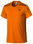 ADIDAS Herren T-Shirt Cool365, Größe M in Orange