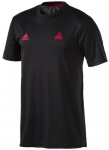 ADIDAS Herren TAN Trainingstrikot, Größe L in Schwarz/Rot, Größe L in Schwar