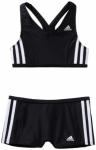 ADIDAS Kinder Bikini I 3S 2PC Y, Größe 116 in Schwarz