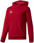 ADIDAS Kinder Kapuzensweat COREF HOODY Y, Größe 128 in Rot