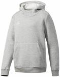 ADIDAS Kinder Kapuzensweat COREF HOODY Y, Größe 140 in Silber