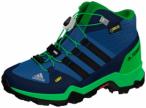 ADIDAS Kinder TERREX Mid GTX Schuh, Größe 35 ½ in Blau