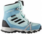 ADIDAS Kinder Multifunktionsstiefel TERREX SNOW CP CW , Größe 36 2/3 in Blau
