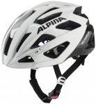 ALPINA Fahrradhelm VALPAROLA, Größe 51 in white-black