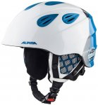 "ALPINA Kinder Skihelm / Snowboardhelm ""Grap 2.0 Jr."", Größe 54 in White"