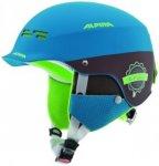 ALPINA Kinder SPAM CAP JR, Größe 50-54 in Blau