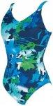 ARENA Damen Bodylift Badeanzug Doris U Back C-Cup, Größe 48 in Blau